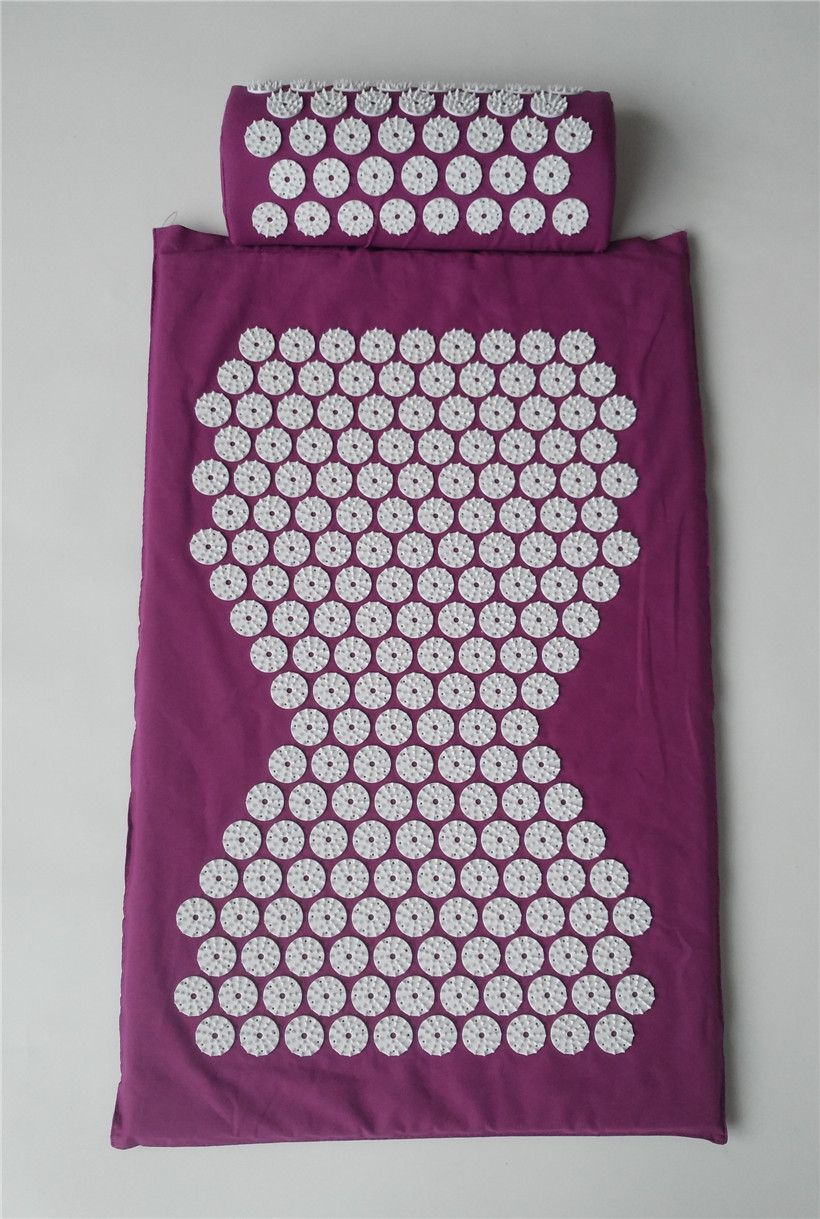 1 Set New Tape Acupressure Acupuncture Massager Yoga Mat