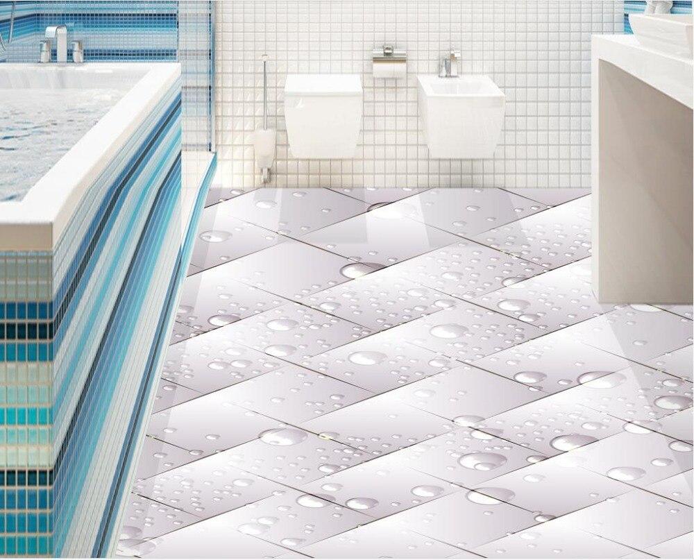 3D floor tiles for living room custom photo floor bathroom 3d floor ...