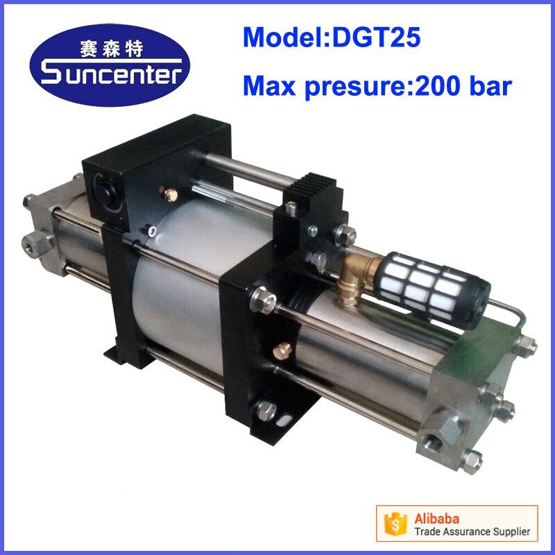 Suncenter portable max 200 bar high pressure helium gas booster pump