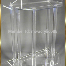 pulpit furniture Free Shipping Beautiful Acrylic Podium Pulpit Lectern acrylic podium