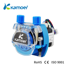 Kamoer KCM 12V /24V Mini Peristaltic Water Pump With Stepper Motor And BPT/Silicon Tube kamoer peristaltic pump tube pharmed bpt tube pipe from saint gobain food grade anti corrosion various size