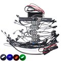 1set Motorcycle Wireless Control Remote 84 LED Neon Accent Lights Multicolor Motorbike Strip light