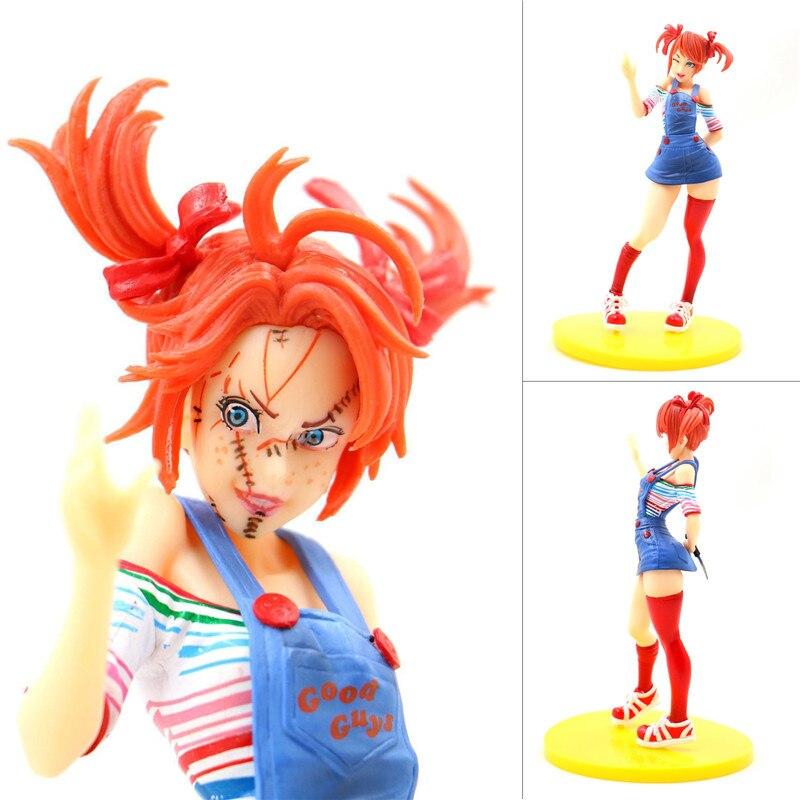 Nouveau 18 cm horreur beauté mandrky PVC figurine jouet horreur Bishoujo Statue Tiffany poupée enfant jeu Halloween jouets poupées cadeaux