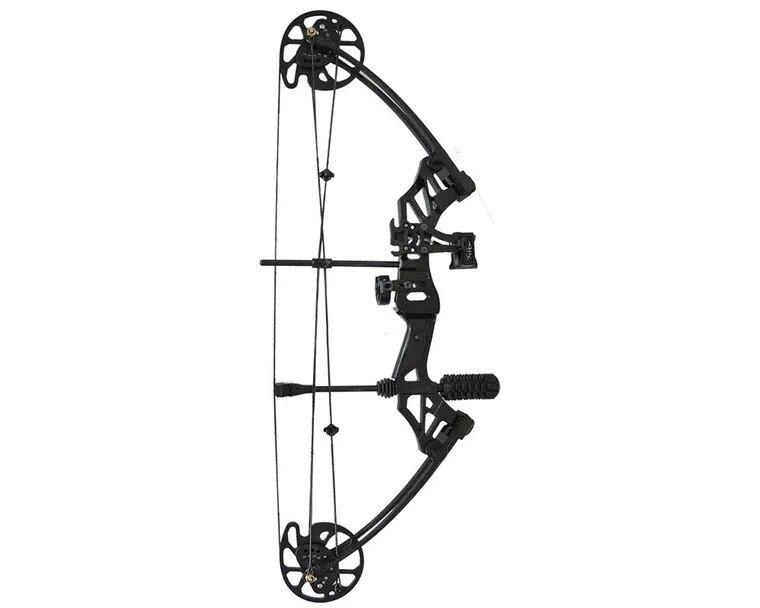 Ensembles d'arc et de flèche à poulie composée 30-70 lbs réglable chasse à l'arc Sports de plein air chasse tir - 5