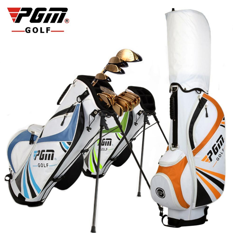 Pgm Golf Rack Bag Mens And Women Rod Standard Ball Club Bag Portable Large Capacity Durable Anti Friction Golf Gun Bag D0066