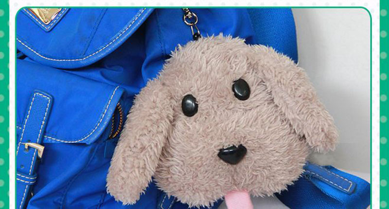 Cute Yuri on ice Victor Puppy Poodle Dog Plush Toy Makkachin Pet Dog Paper Box Keychain Pendant Cosplay Decoration Toy Kids Gift (7)