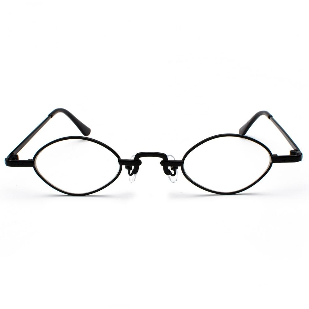 7519076f0f9 Kachawoo small oval clear lens eye glasses frame men design metal vintage  nerd glasses women 2019 unisex gold black-in Eyewear Frames from Apparel ...
