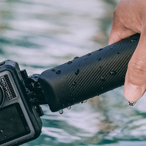 Image 3 - Ação de pgytech dji osmo/bolso selfie vara lidar com apertos para gopro hero 9 8 7 6 5/insta360 um x/ /xiao yi câmera esportiva