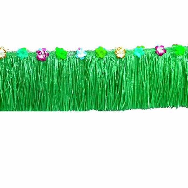 Grass Table Skirt Tropical Hawaiian Luau Party Birthday Gender Reveal  Wedding Baby Shower Anniversary Retirement Patio