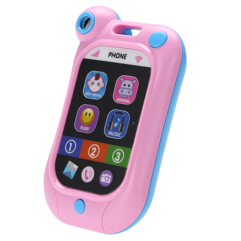 Baby Kids Cell Phone Toy Learning Study Musical Sound Children