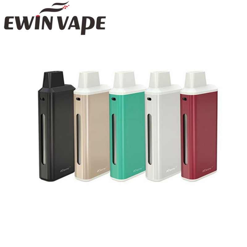 Electronic Cigarette Eleaf iCare Starter Kit hookah with 1 8ml Atomizer Tank and 650mah Battery with
