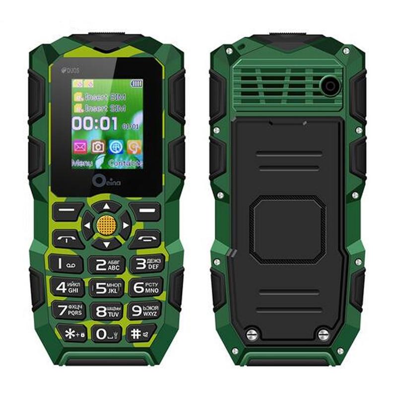 Oeina XP1 IP68 waterproof Phone 1 77 inch Camera Dustproof Shockproof Bluetooth 2500mAh Battery Flash Light