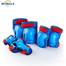 Skybulls 6pcs/Set Kids Knee Pads Elbow Pads Wrist Protector Bicycle Skateboard Skate Roller Outdoor Sports Protective Gear Set destroyer pro elbow xl purple skateboard pads