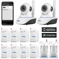 Kerui N62 Wireless IP wifi Camera alarm system wifi camera mini, Mobile Phone Android App Control Home Alram System