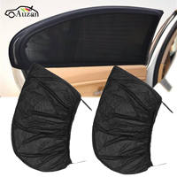 2x Universal Car Sun Shade Cover Blind Mesh For Rear Side Window Max UV Protection