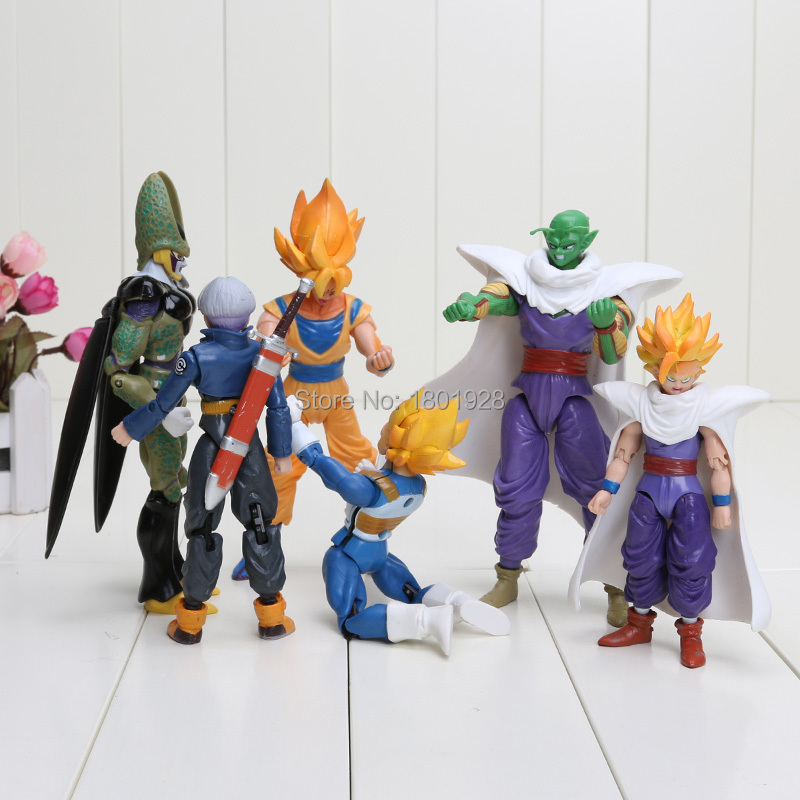 Dragon Ball Z Action Figures Set 15cm 10