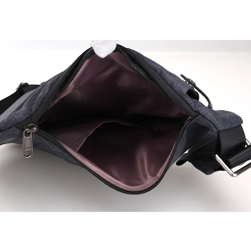0c7c2d5c21 Compact Single Shoulder Bags Men Women Waterproof Nylon Crossbody bags Male  Messenger Bag Chest Pack Cool Motorcycle Sling Bag-in Waist Packs from  Luggage ...