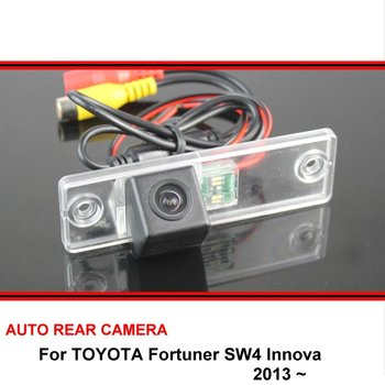 For TOYOTA Fortuner SW4 / Innova 2005~2016 Rear View Camera Reversing Camera Car Back up Camera HD CCD Night Vision image