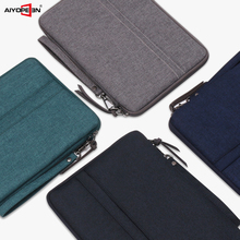 Case for ipad pro 10.5 bag, AIYOPEEN Protective Sleeve Pouch Bag for iPad Air 3 10.5 2019 case fashionable handbag style protective polyester sponge pouch bag for ipad grey