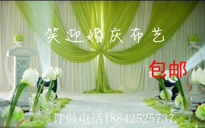 3x6m Luxury Wedding Backdrop with Beatiful Swag Wedding drape and curtain wedding decoration3x6m Luxury Wedding Backdrop with Beatiful Swag Wedding drape and curtain wedding decoration