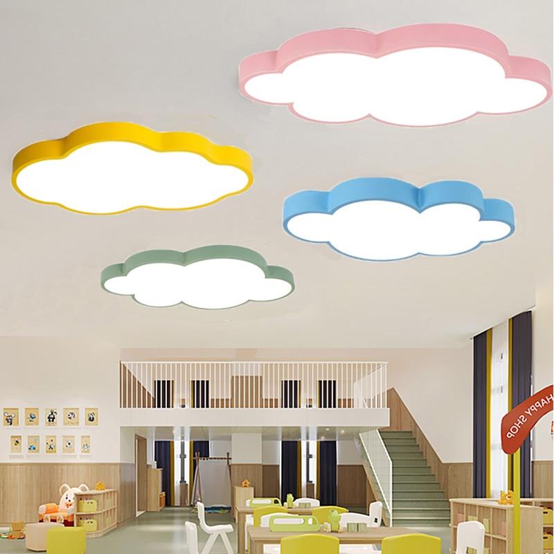 Moderne Led-deckenleuchte Leuchte Lampe Oberfläche Montieren Wohnzimmer Schlafzimmer Bad Fernbedienung Hause Dekoration Küche Farben Sind AuffäLlig Licht & Beleuchtung
