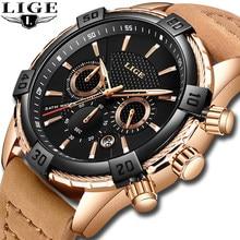 b979b030deb 2019 nuevos relojes para hombre de marca de lujo de la mejor en este momento  de los deportes de moda impermeable 24 hora fecha r.