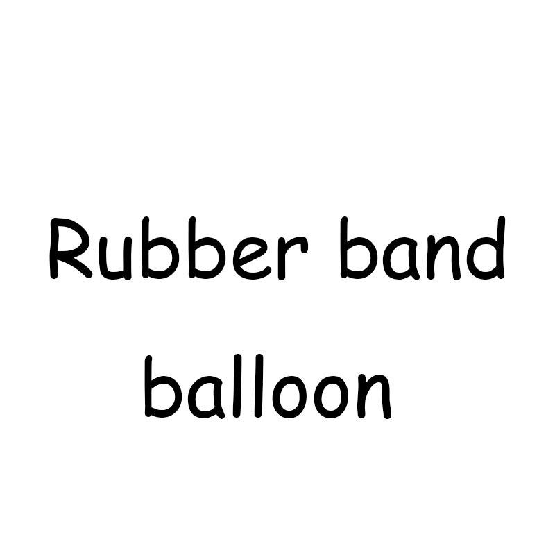 2019 new game 3000 balloons Rubber band balloon