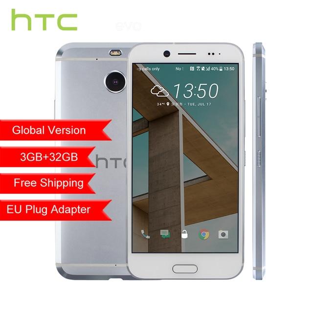 """Оригинальный htc 10 Evo 3 ГБ Оперативная память 32 ГБ Встроенная память Android 7,0 Octa Core 5,5 """"FHD 4 г LTE водонепроницаемый отпечатков пальцев Смартфон"""