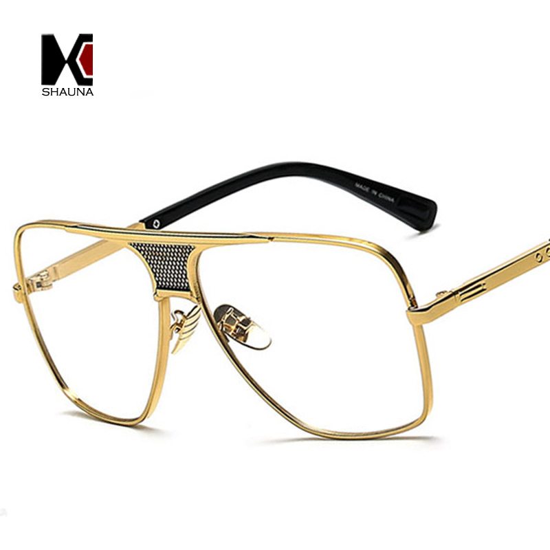 Square Golden Alloy Frame 4