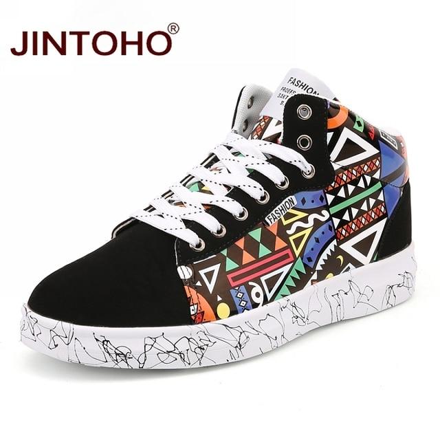 eae09f5d8c JINTOHO Unisex Inverno Quente Sapatos Da Moda Sapatos de Couro Homens Botas  De Inverno Ankle Boots