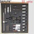 22 набора дизельных инжекторов common rail набор инструментов для демонтажа инжектора bosch denso