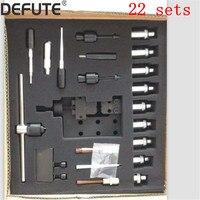 22 키트 디젤 커먼 레일 인젝터 bosch denso 인젝터 분리 도구 용 공구 세트 분해