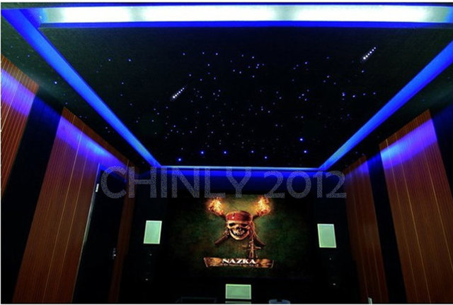 Online shop 16w rgbw rf remote twinkle led fiber optic star ceiling 16w rgbw rf remote twinkle led fiber optic star ceiling light kit 335pcs 0751015mm 4m 3pcs shooting stars effect aloadofball Images