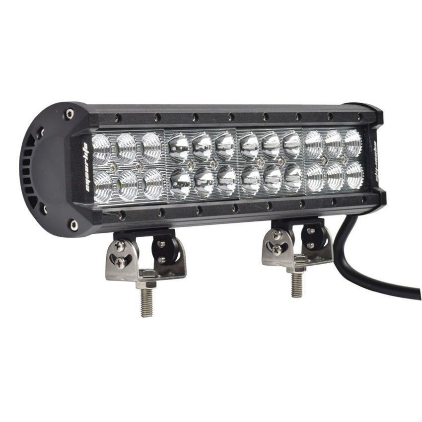 Eyourlife 12 inch led light bar off road driving truck light bar eyourlife 12 inch led light bar off road driving truck light bar 4x4 atv suv boating truck 72w 12v 24v in light barwork light from automobiles mozeypictures Image collections
