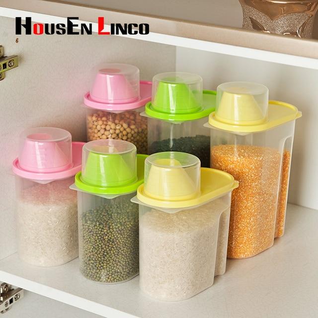 Casa Cocina Recipiente de plástico de Almacenamiento de Botellas de ...