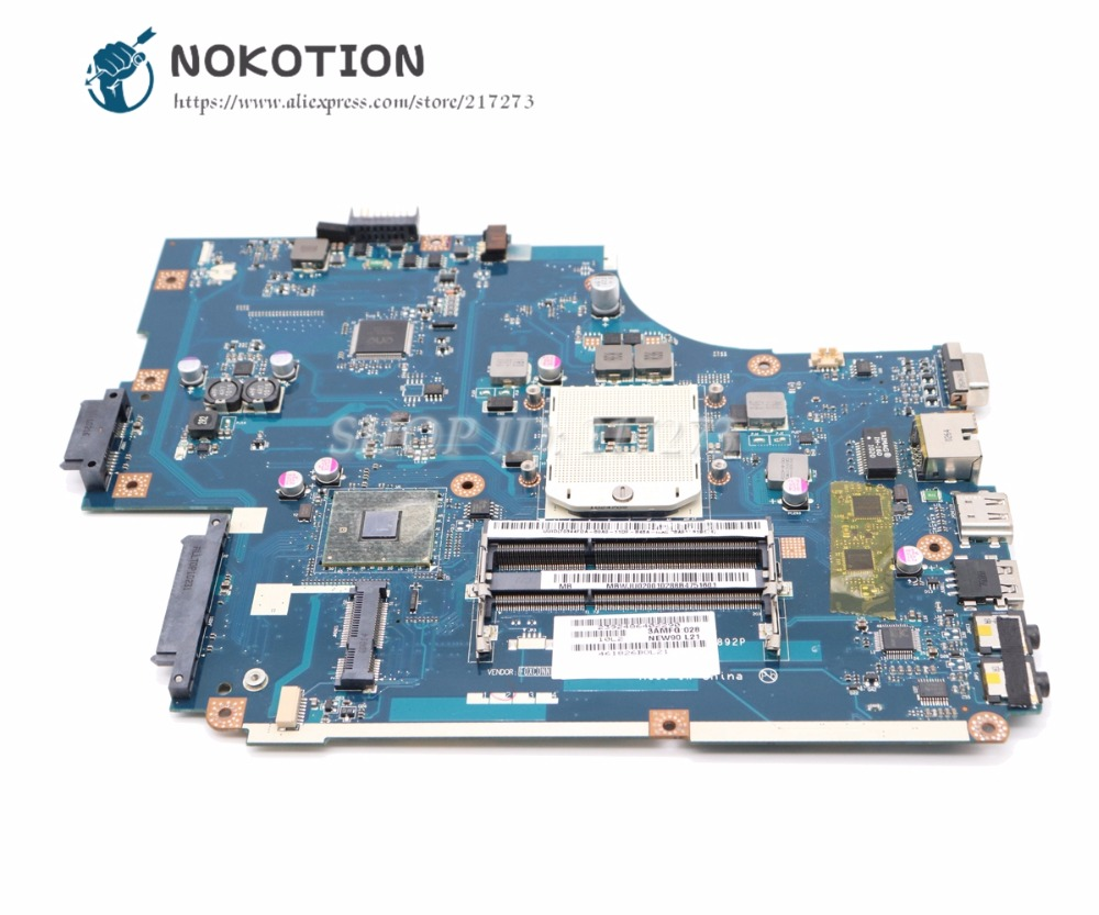 NOKOTION MBWJU02001 MB.WJU02.001 For Acer aspire 5742 5742G Laptop Motherboard NEW70 LA-5892P HM55 UMA DDR3