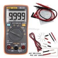 AN8008 True RMS LCD Digital Multimeter Voltmeter Ammeter AC DC Voltage Current H028