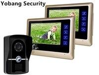 Freeship By DHL 7 Video Intercom Home Door Phone System Door Monitor IR Night Vision Camera