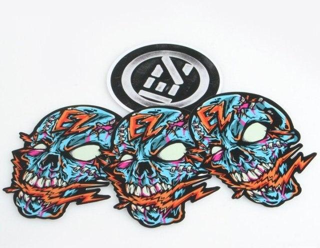 Die cut vinyl sticker custom printinghigh quality die cut custom zombie decals