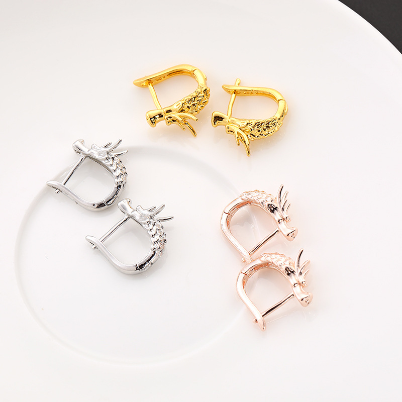 Punk dragon earrings (4)