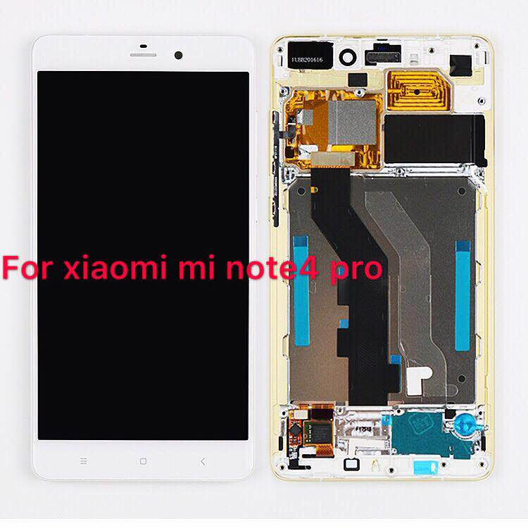 """5.7"""" For Xiaomi MI Note MI Note LTE LCD Display Touch Screen with frame Digitizer Replacement For Xiaomi MI Note / Note Pro lcd"""