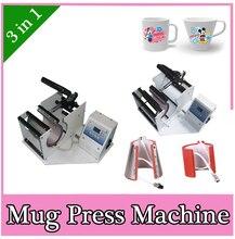 Portable Digital Mug Press Machine cups printer 3 in 1 Cup Heat Press machine Thermal transfer