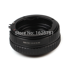 Adjustable Focusing Macro Tube To Infinity Helicoid Lens Adapter suit For Nikon G To Micro 4/3 M43 Camera GH3 GF5 E-P5 E-PL5