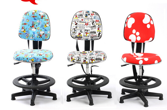 Children's chair. Students will be lifting study chair. Write chair. Home computer chair. the new salon haircut chair chair barber chair children hydraulic lifting chair