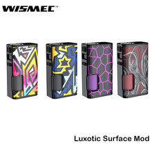Original Wismec Luxotic Surface Mod Box Kit Squonk Mod 80W With 6.5ml Bottle Support Kestrel Atomizer Electronic cigarette Vape(China)
