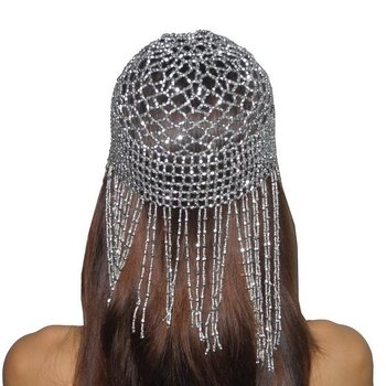 Cleopatra Beaded Head Cap Hat7