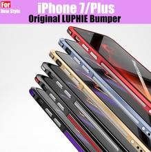 bumper for iphone 7 metal frame case luxury Aluminum Metal Bumper For iPhone 7 Prismatic Shape Frame Metal Armor