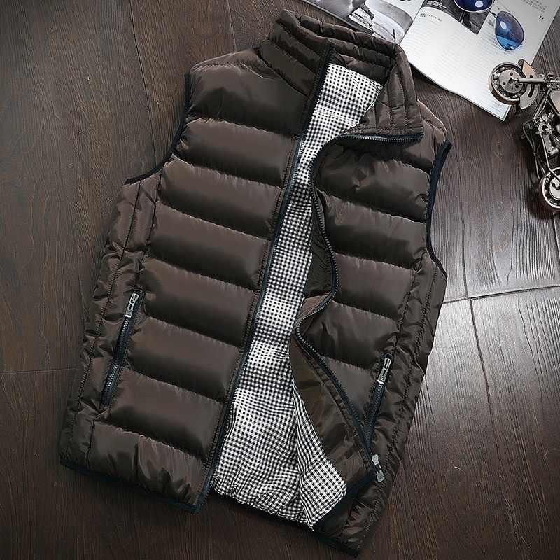 ZOGAA Kore Moda Erkek Giyim Yelek Erkekler Yeni Şık 2019 Ilkbahar Sonbahar Sıcak Kolsuz Ceket Erkek Kış Yelek erkek yelek