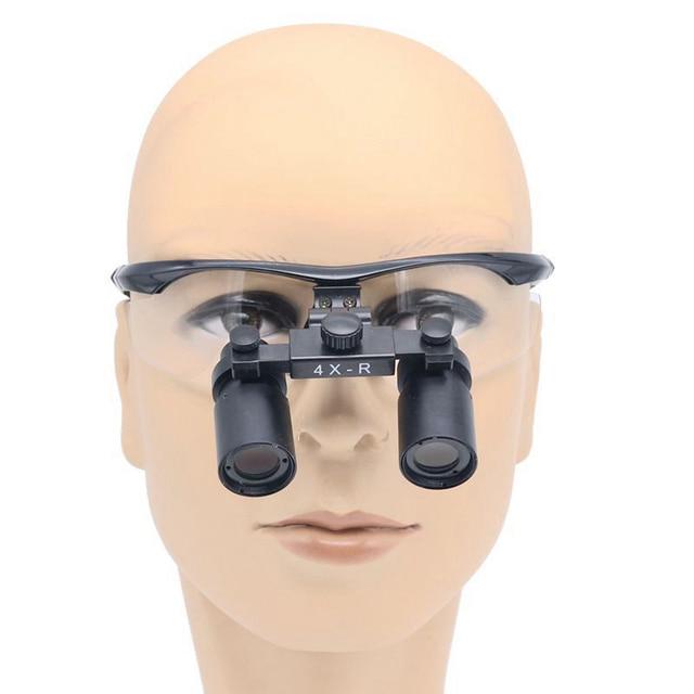 4X 360mm-420mm Dental Loupes Surgical Medical Dentistry Frame Surgical magnifier Surgical ENT Suture Plastic surgery Dental ENT