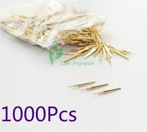 Image 1 - 1000 szt. Laboratorium dentystyczne mosiężne kołki rozporowe #2 średnie